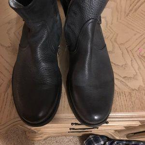 Men Kenneth Cole Black Boots